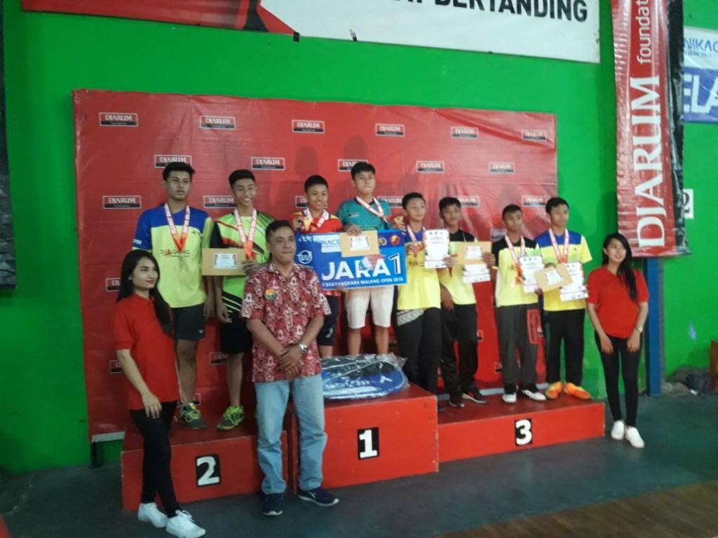 Menakjubkan, Siswa Madrasah Meraih 2 Medali Emas Dalam Malang Open 2018